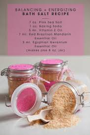diy energizing and balancing bath salts recipe