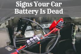 What Does A Battery Light Mean Five Signs Your Car Battery Is Dead Or About To Die