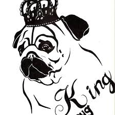 pug puppy coloring pages free pug coloring page to and print printable pages animals pug