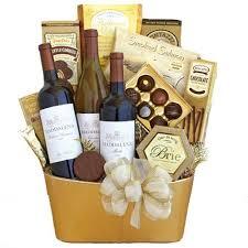 golden spirits wine basket