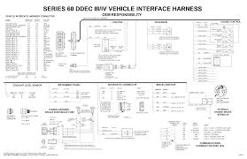 ddec iv wiring diagram series 60 vehicle wiring harness diagram  i am working on a series 60 detroit that cylinders 1, 2, &3 ddec Fuse Box Diagram For 2002 Volvo Road Tractor
