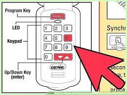 genie garage door opener reset pin genie garage door opener keypad programming universal genie garage door