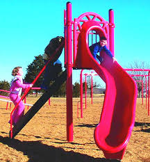 curved slide freestanding curved slide playground equipment usa