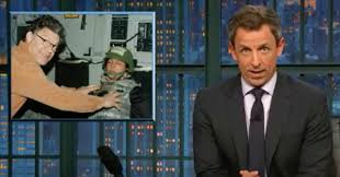 Seth Meyers Calls Out Al Franken For \u0027Horrifying\u0027 Groping Photo ...