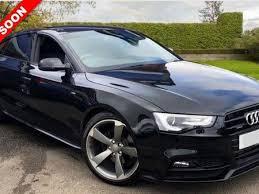 black audi 2015 a5.  Black 2015 15 Audi A5 20 Sportback Tdi S Line Black Edition Plus 5d Auto 175 Bhp With Black Audi A5