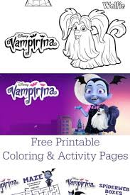 Vampirina Coloring Pages Archives Life Family Joy