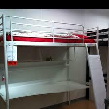 cool loft beds with desks underneath design