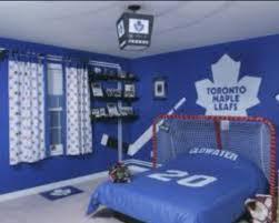 Hockey theme bedroom