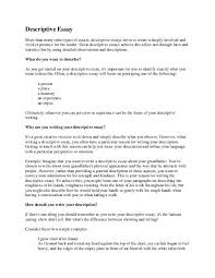 description of a person essay okl mindsprout co description