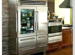 glass door refrigerator residential glass door refrigerators
