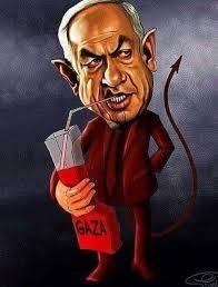 Bildergebnis für bloody netanyahu