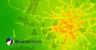 <b>Air</b> Quality Map - Live & Forecast Pollution - BreezoMeter