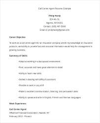 Call Center Resume Examples Beauteous Call Center Resume Samples Luxury Call Center Resume Objective