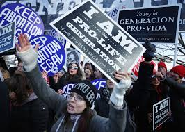 abortion rights debate it didn t have to be this polarizing pro life activists try to block pro choice activists as the annu