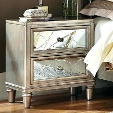 glass nightstand