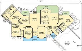 Flexible House Plan With InLaw Suite  3067D  Architectural Houses With Inlaw Suites