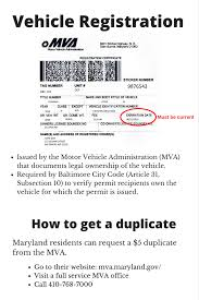 any photo id cur maryland vehicle registration