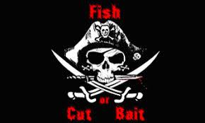 Pirate Fish or Cut Bait Flag 3 X 5 ft. Standard