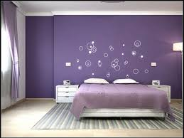 Bedroom Wall Color Schemes Purple Bedroom Color Schemes With Unique Wall  Art And Colorful