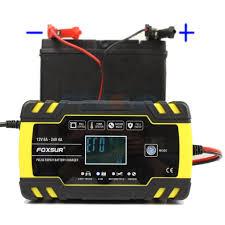 Car Motorcycle <b>12V 8A 24V 4A</b> Pulse Repairing Battery Charger ...