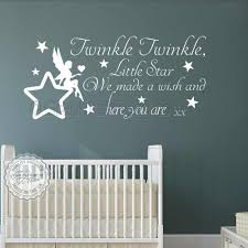 twinkle twinkle little star wall stickers baby boys girls bedroom wall quote decor decals with fairy sitting on star 02 on baby boy nursery wall art stickers with twinkle twinkle little star wall stickers baby boys girls bedroom