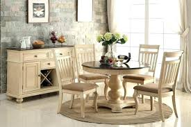 48 round pedestal dining table with leaves inch leaf faux concrete top kitchen outst