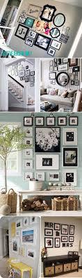 Ideias de disposio de fotos/quadros na parede Unique Ways Of Displaying  Photographs In Your