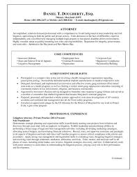 Attorney Resume Examples Legal Law Counsel Lawyer Example Sample