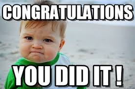 Image result for congratulations meme