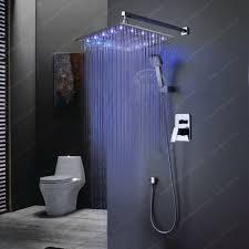 Us 2175 13 Offbakala Bad Decke Regen Dusche Led 7 Farben Automatische ändern Mit Wand Montiert Oder Decke Montiert Dusche Br Led1616 In