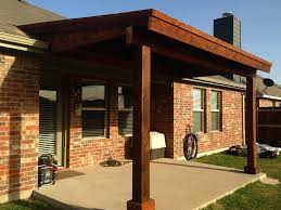 how to build a patio cover attached to
