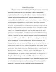sample reflection essay feminism reflective paper what is  2 pages sample reflection essay 7