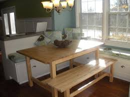 ... Kitchen Table With Bench And Chairs Table Home Accessories Kitchen  Table Bench Seat ...