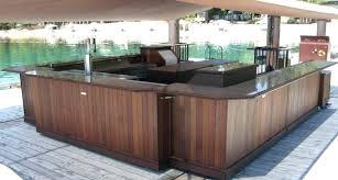 portable outdoor bar bars modular mobile diy plans portable backyard bar