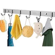 Coat Peg Rack Cool Amazon OUNONA Wall Coat Rack Coat Hooks Wall Mounted Stainless