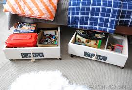 underbed drawers to organize your bedroom decorating view larger