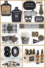 80th birthday ideas for men love this fun aged to perfection 80th birthday