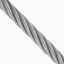 3 16 Wire Rope Strength Chart 3 16 Inch 7 X 19 Type 316 Stainless Steel Cable