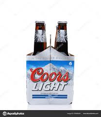 30 Rack Of Coors Light Irvine May 2014 Pack Coors Light Beer End View Coors Stock