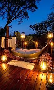 outdoor bathtub diy ideas