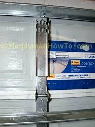 classic garage door hurricane reinforcement kit