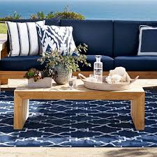 best design ideas marvelous navy blue outdoor rug lily recycled yarn indoor pottery barn from