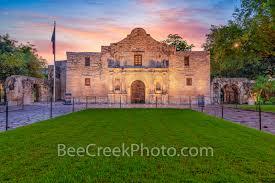 The Alamo at Sunrise in San Antonio ...