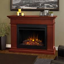 kennedy grand electric fireplace in dark espresso by real flame com