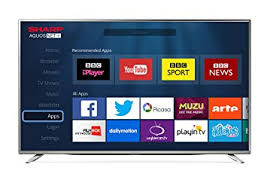 sharp 24 inch smart tv. sharp 43-inch 4k ultra hd smart tv with freeview - silver 24 inch tv 1