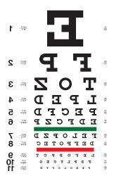Landolt C Eye Chart