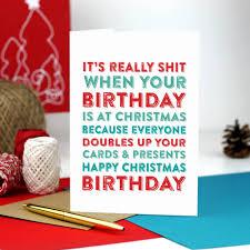Christmas Birthday Card Under Fontanacountryinn Com