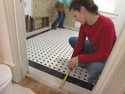 How To Install A Mosaic Tile Floor Howtos DIY - Installing bathroom tile floor
