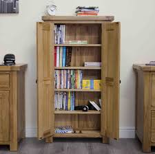 Lockable Dvd Storage Cabinet Tilson Solid Rustic Oak Furniture Cd Dvd Storage Cupboard