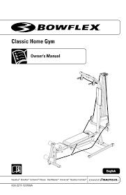 Bowflex Motivator Exercise Chart Bowflex 003 3211 120108a Users Manual Manualzz Com